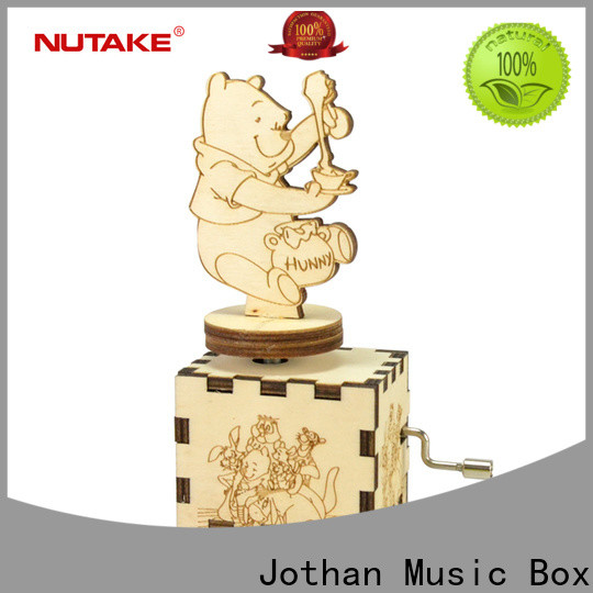 NUTAKE moving music box factory manufacturing site