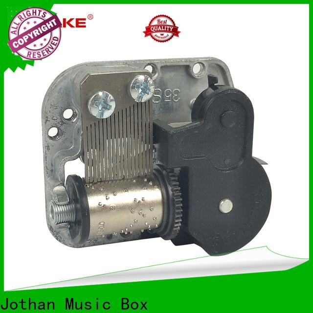 Top wooden music box part Supply bulk production