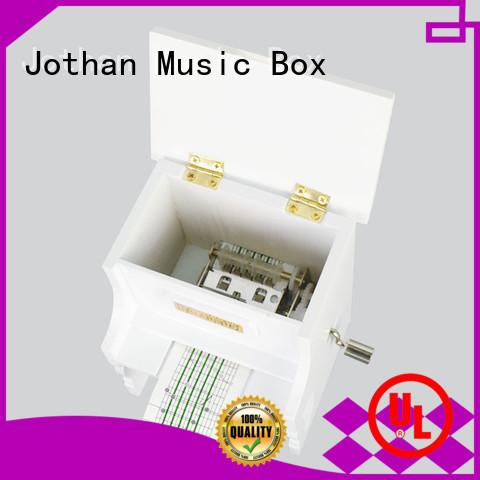 Latest custom musical box company features