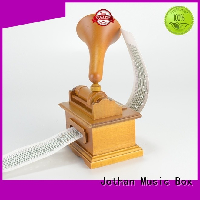 High-quality custom made musical box for business manufacturing site