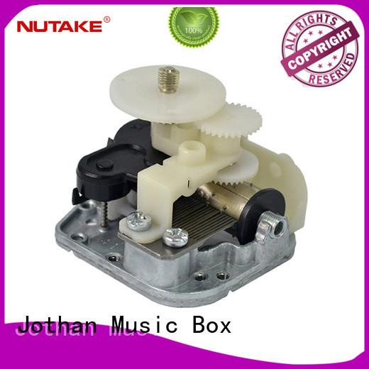 NUTAKE rocking wind up music box mechanism manufacturers manufacturing site
