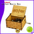 NUTAKE Latest childrens wooden music box factory features