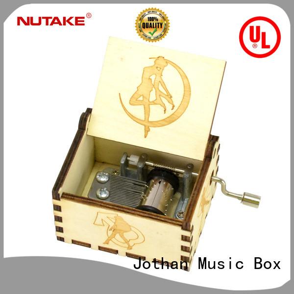 NUTAKE hand crank music box custom factory how much