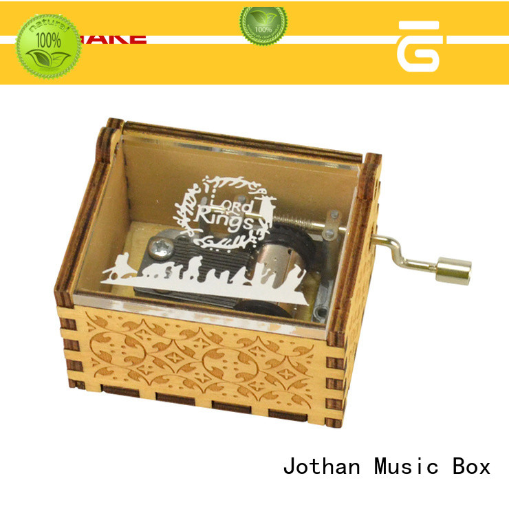 NUTAKE mini music box hand crank for business top rated