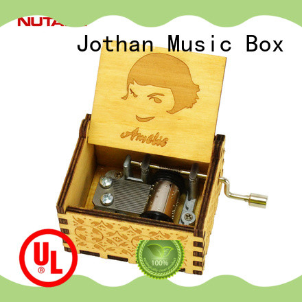 NUTAKE children's musical boxes factory manufacturing site