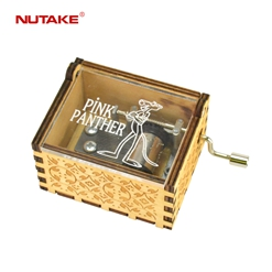 NUTAKE antique wooden music box factory best rated-17