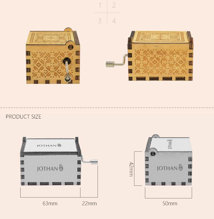 Wholesale mini music box hand crank Supply buy now-3