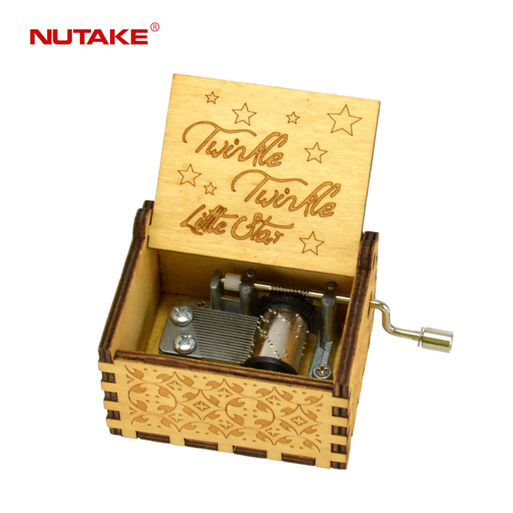 twinkle twinkle little star personalized handicraft music box with custom song 55805101-15