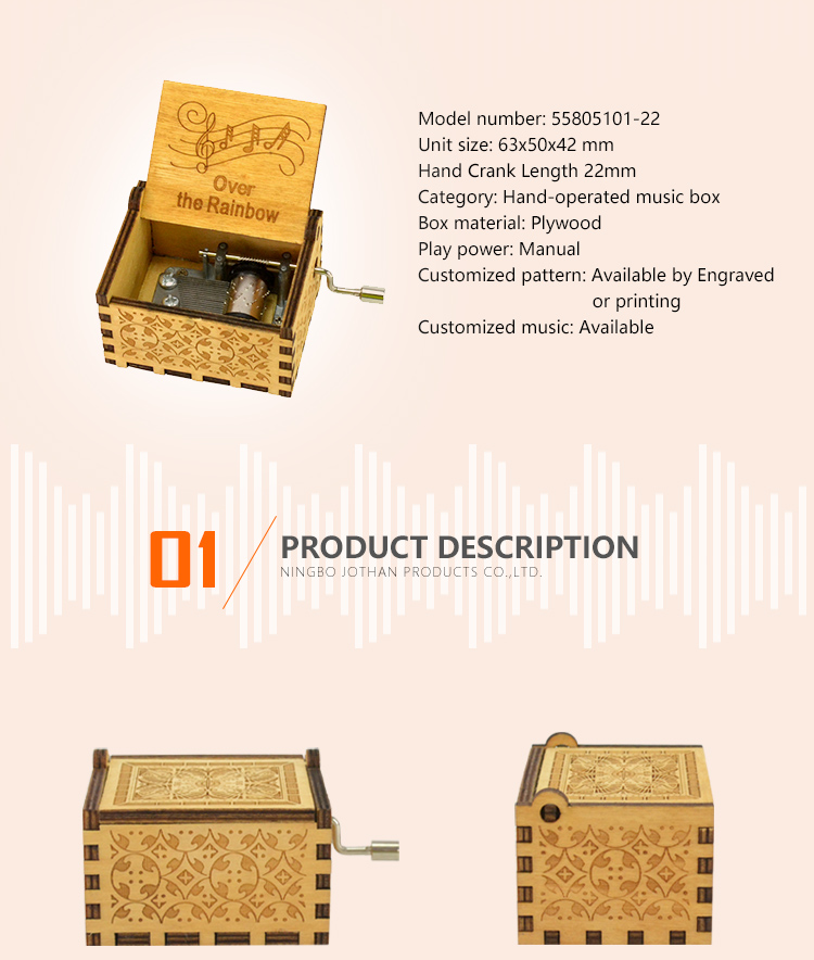 NUTAKE Top nice music box for business features-2