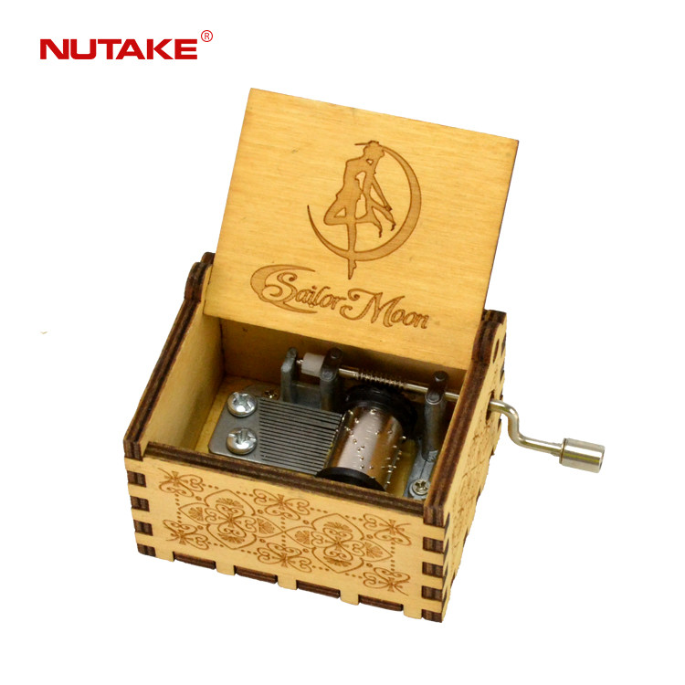 Chinese wholesale personalized custom songs best selling hand crank music box 55805101-24