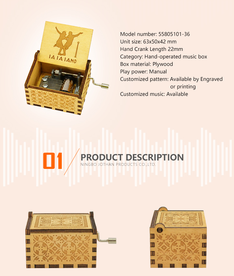 High-quality music boxes for men for business Cheap-2