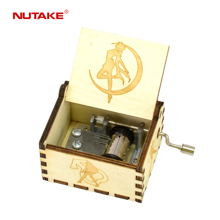 NUTAKE brand wooden boxes for music box movements 55805101-37