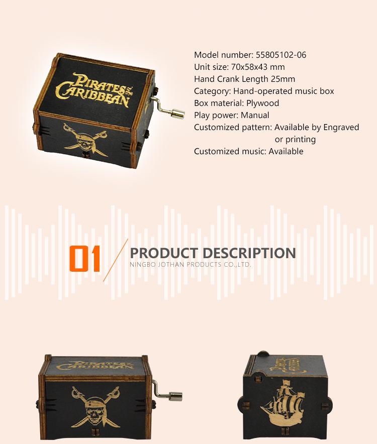 NUTAKE Latest elegant music box Suppliers for sale-2