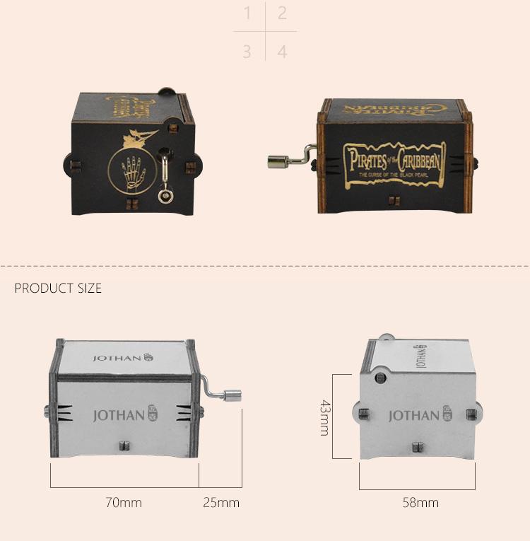 NUTAKE Latest elegant music box Suppliers for sale-3