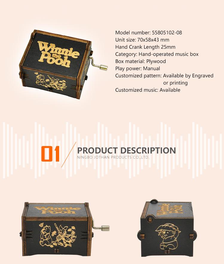 NUTAKE New hand crank music box custom factory features-2