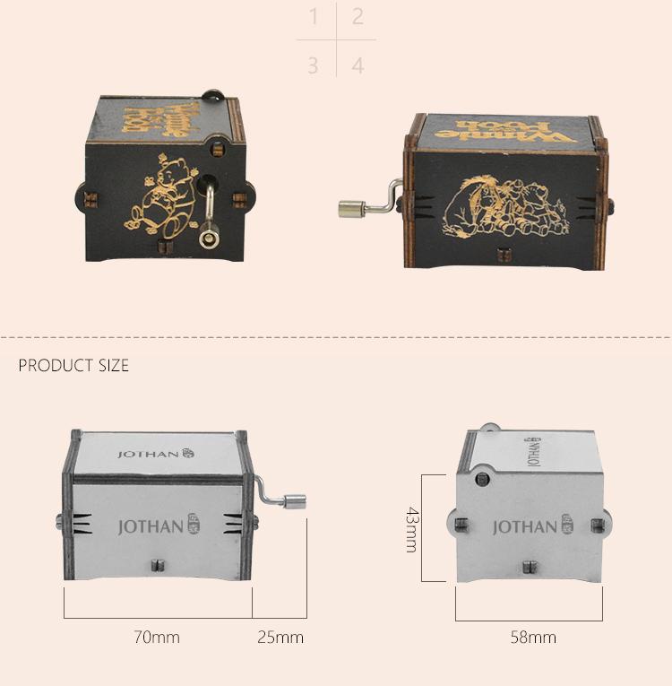 NUTAKE New hand crank music box custom factory features-3