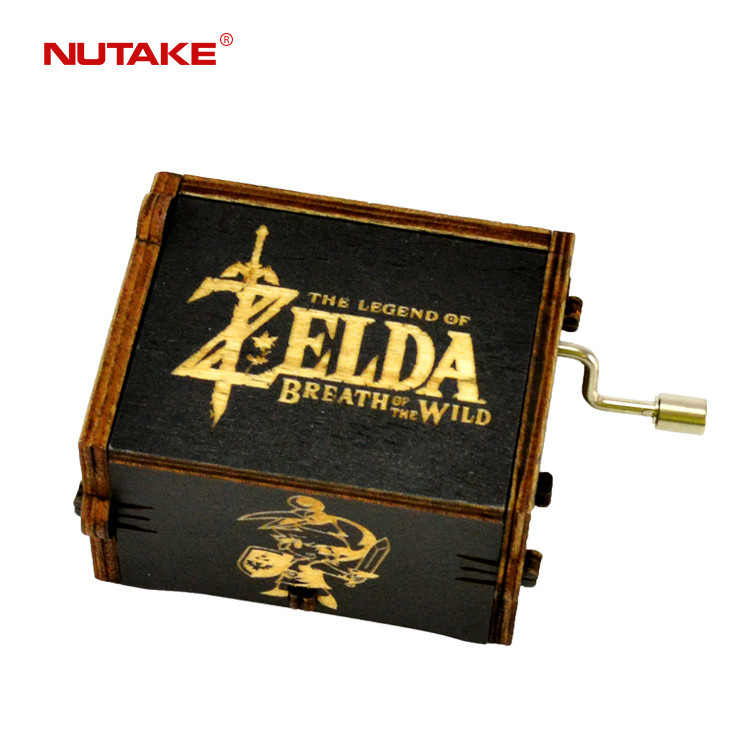 Custom melody Breath of the wild The Legend of Zelda music box 55805102-09