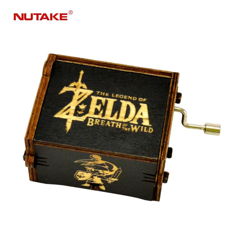 Custom melody Breath of the wild The Legend of Zelda music box 55805102-09