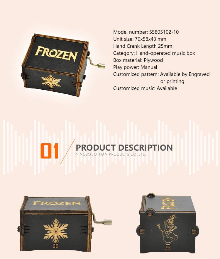 Latest engraved music box for business top rated-2