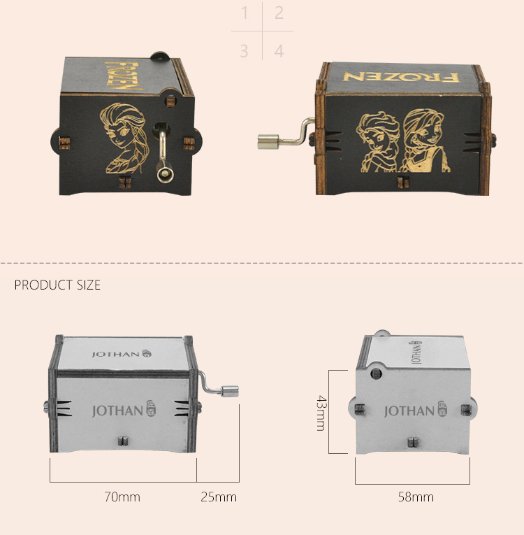 Latest engraved music box for business top rated-3