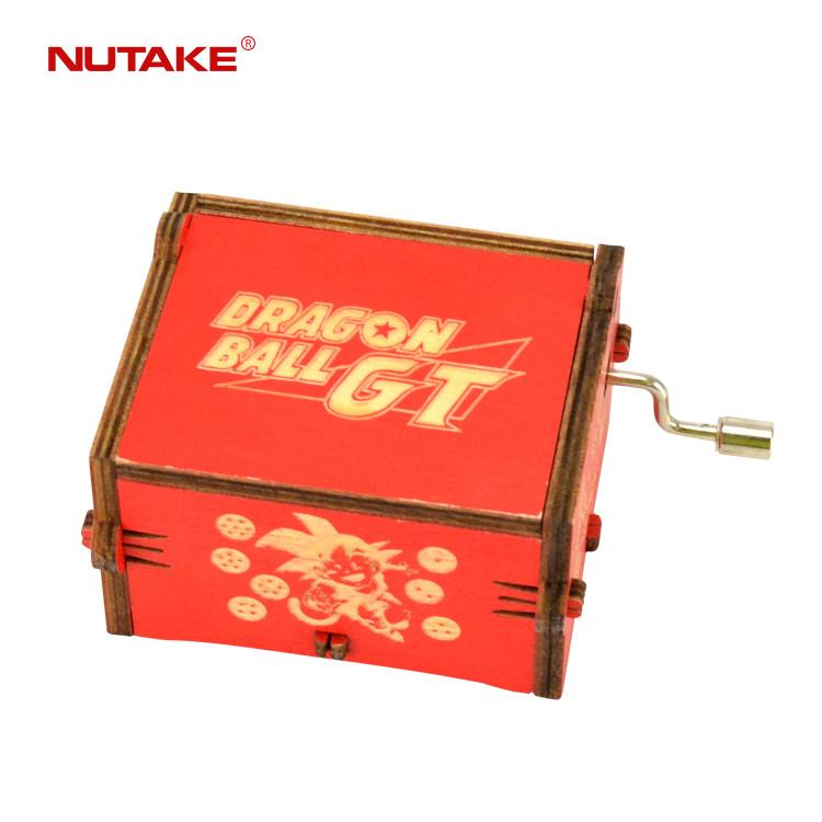 Laser cutting Dragon Ball small wooden music box with custom song  (Dragon Ball laser cutting small wooden music box with custom song) 55805102-13