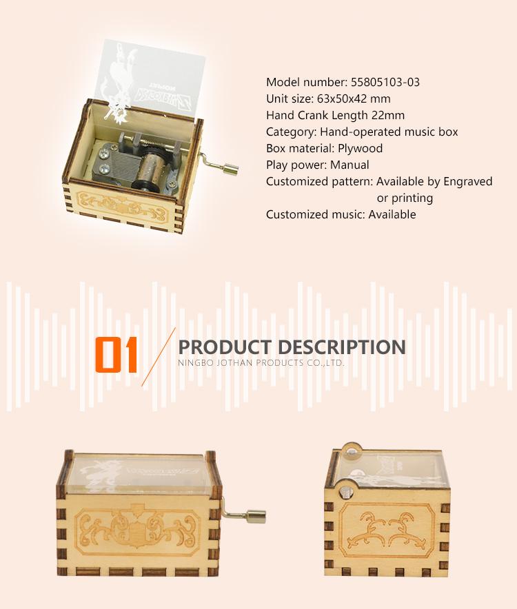 NUTAKE mechanical hand crank music box Suppliers Cheap-2