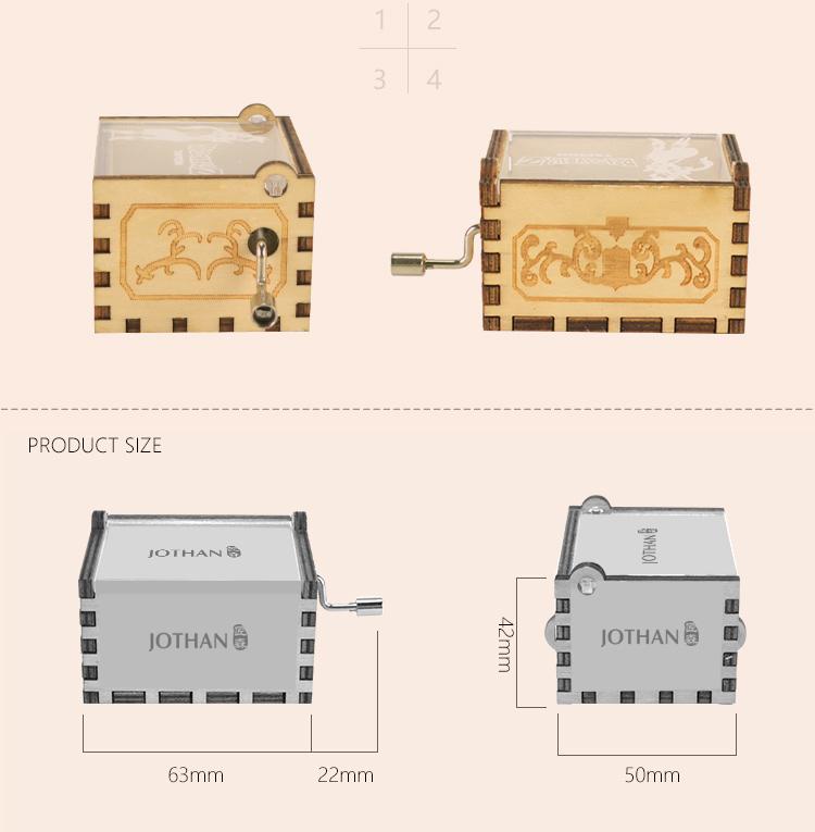 NUTAKE mechanical hand crank music box Suppliers Cheap-3