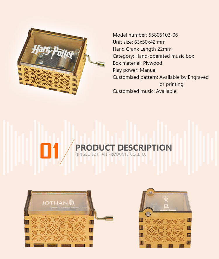 High-quality custom music box manufacturers buy now-2