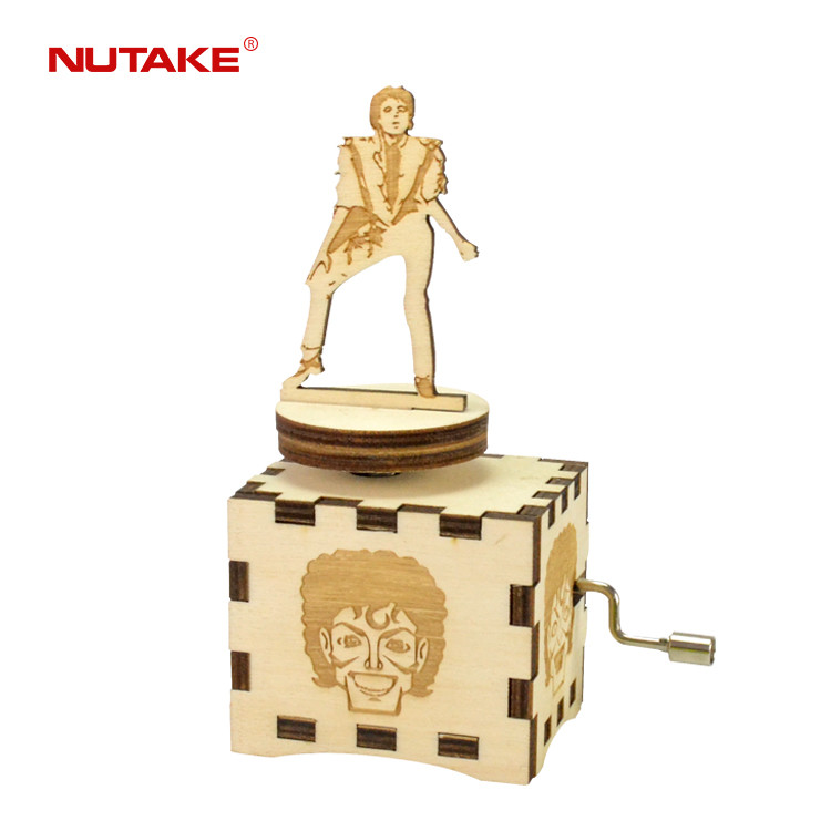 Wholesale Michael Jackson custom made hand crank various designs music box 55805104-02