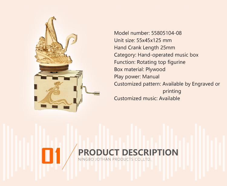 NUTAKE hand crank music box company top rated-2