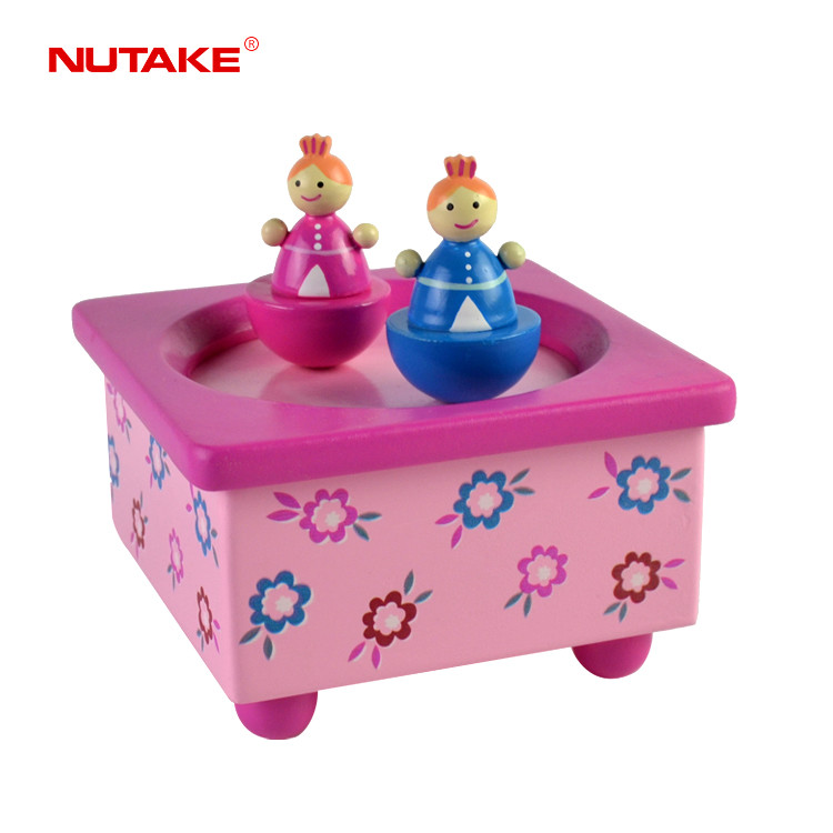 The Dancing girls cute Music Box Playing 55803208
