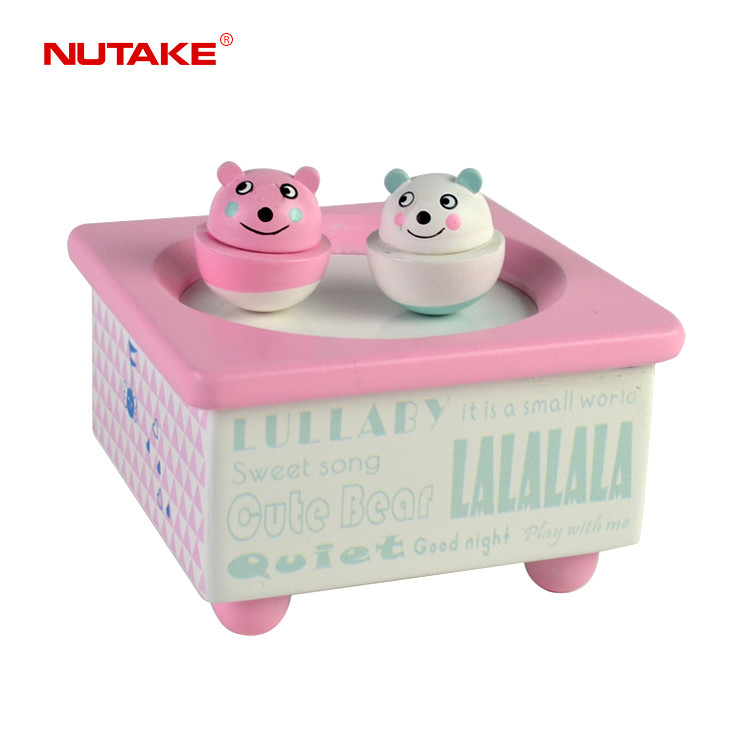 Children Musical Dancing sound box with 2 bears 55803217