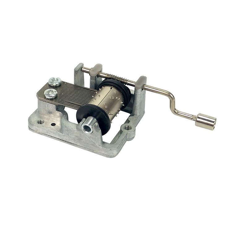 18 note yunsheng hand cranked music box mechanism movement 10188003M-01