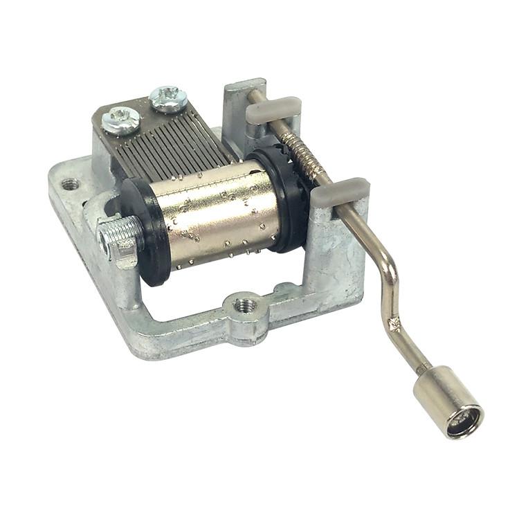 Hand crank custom music box mechanism movement 10188003M-02