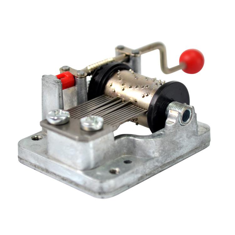 Wholesale souvenir custom hand crank mechanical music box movements 10188003P-06