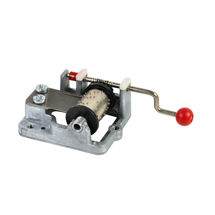 18 note hand crank musical box mechanism movements 10188003P-02