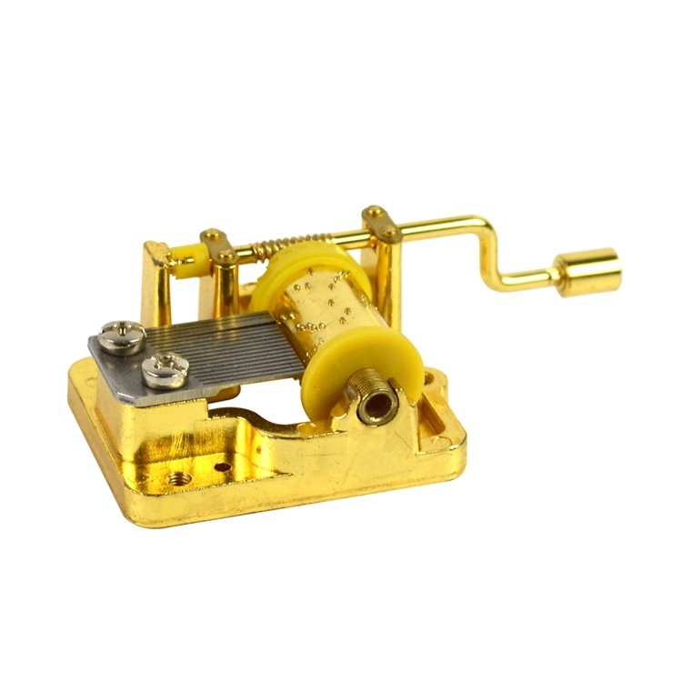 Custom wind up music box parts rotating company for sale
