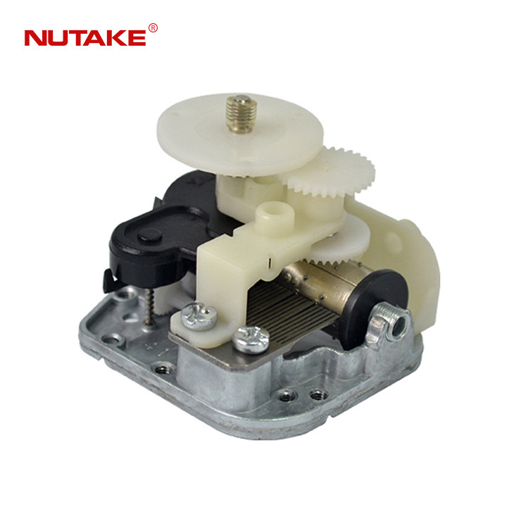 18 note wind up music box with rotating plate 10188001-18