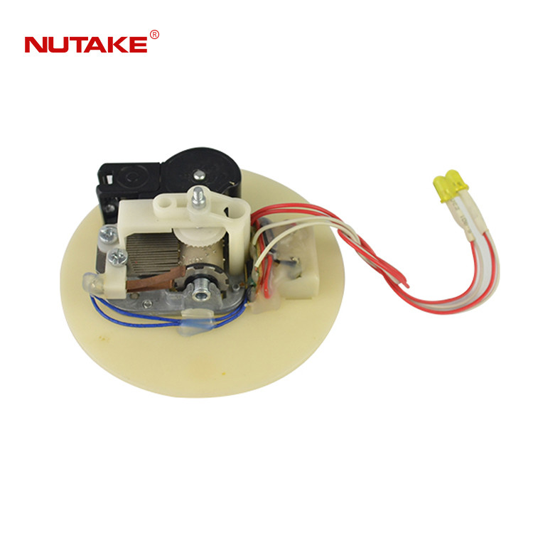18 note music box movement with rotating shaft and LED lights 10188001-38