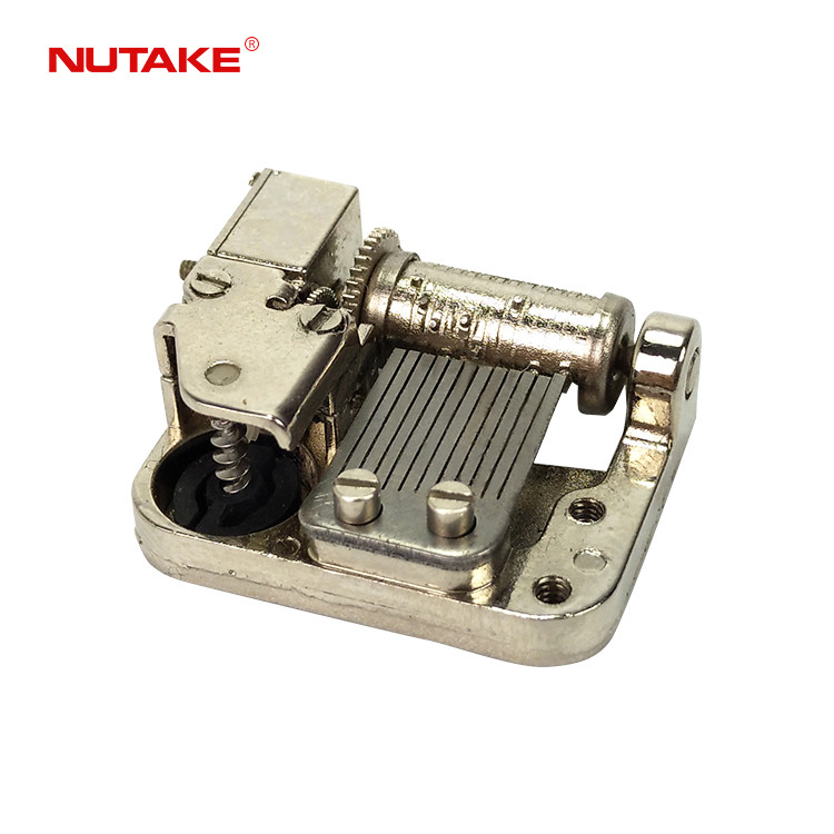 12 note super mini spring music box mechanism clockwork with side wind up shaft 10188015