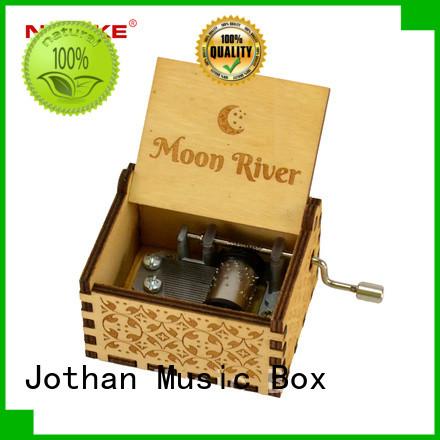 New hand crank music box custom Supply brands