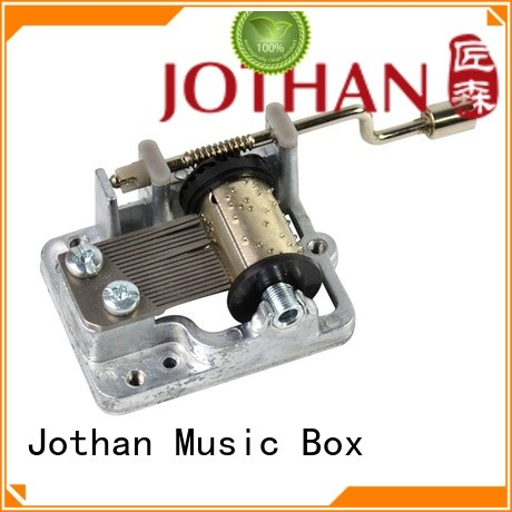 Latest music box mechanism parts note manufacturers bulk production