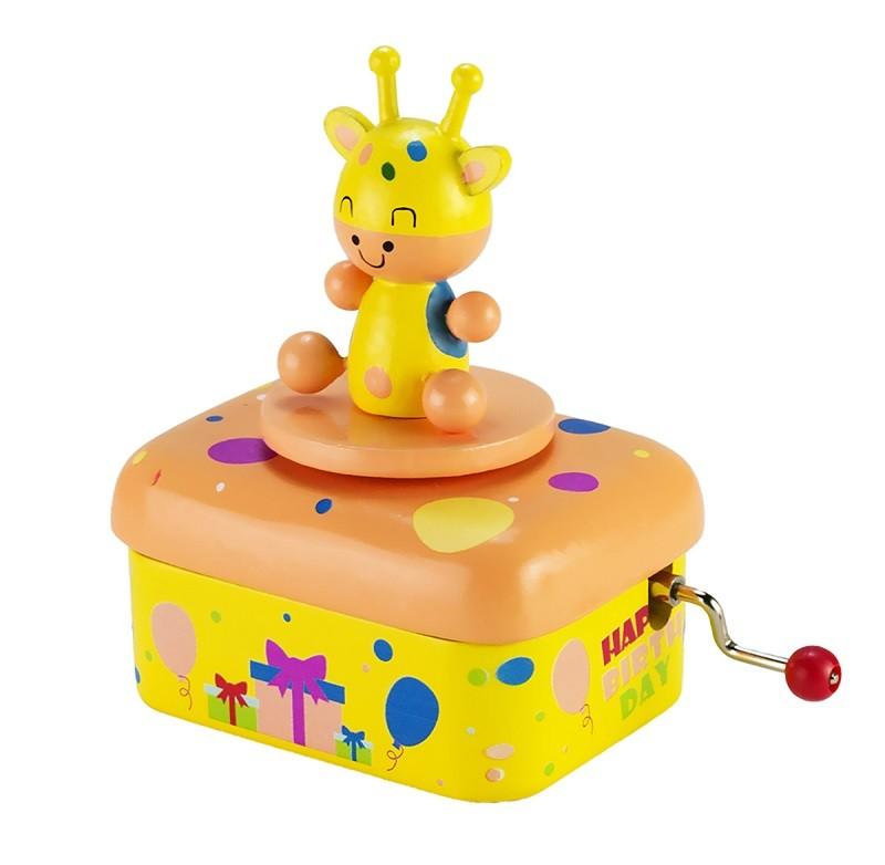Hand Crank Animal Children Music Box