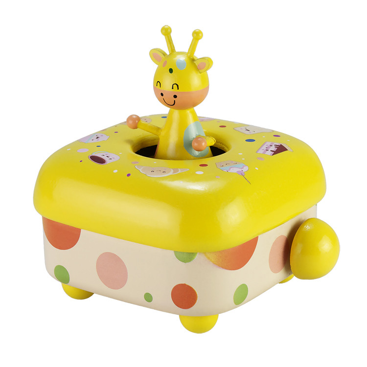 Wooden Children Music box 55803401-05