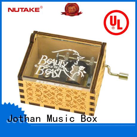 NUTAKE clockwork music box manufacturers manufacturing site