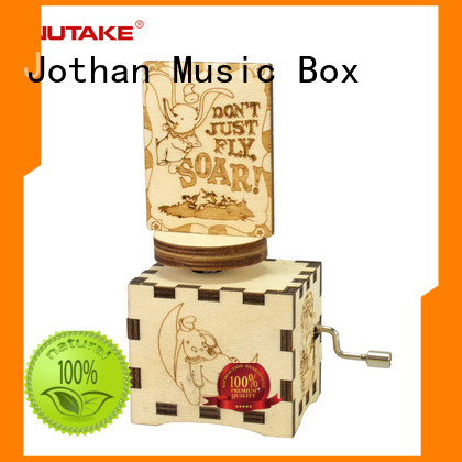 High-quality wooden box for music box for business manufacturing site