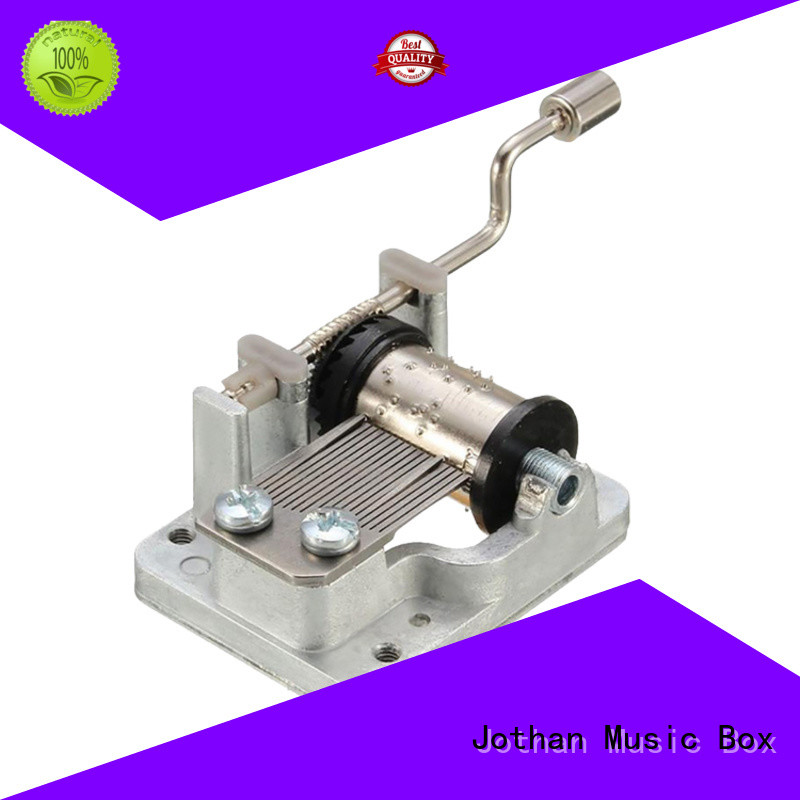 Latest winding music box plastic for business for sale