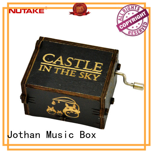 NUTAKE Top hand crank christmas music box manufacturers for sale