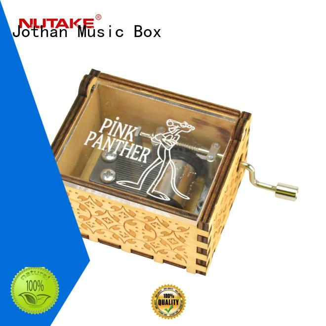 Custom round music box Supply top rated