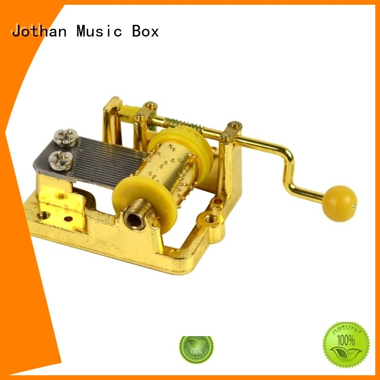 NUTAKE Latest music box movement parts for business bulk production